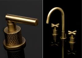 Unlacquered Brass Bathroom Faucet by A Warm Front In The Bathroom Kitchen U0026 Bath Business