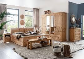 schlafzimmer 7teilig mexican stil kiefer massiv gelaugt geölt casade mobila