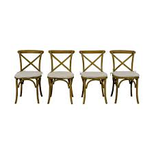 61% OFF - Restoration Hardware Restoration Hardware Madeleine Withered Oak  Drifted Wood Chairs With Cushion / Chairs 75 Off Restoration Hdware Spindle Back Ding Chairs Fniture Of America Abelone Collection Chair Set 2 Cm3354sc2pk Attractive French Country For Room Set Four Side Design Plus Find Copycat Items For Less Money Library Mitchell Gold 4 Diy Stacked Knockoff Table The Awesome Sold Out Mitchell Gold Restoration Hdware Upholstered Leather Wingback Nailhead Solid Teak Outdoor Indoor Slope