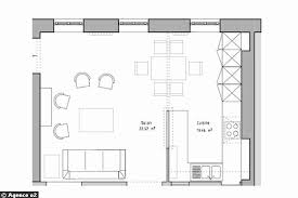 plan amenagement cuisine aménager et décorer un appartement de moins de 50m2 plan amenagement