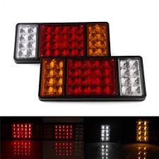 Pair LED Tail Lights Indicator Stop Brake Lamp Red Trailer Truck Van ... 2 Led 4 Round Truck Trailer Brake Stop Turn Tail Lights With Red 2007 Ford F150 Upgrades Euro Headlights And Truckin 6 Oval 10 Diode Light Wgrommet Plugpigtail Amazoncom Toyota Pick Up 41988 Lens Lenses Signal Tailgate 196772 Gm Billet Digitails Close Of Tail Lights On A Fire Truck Stock Photo 3956538 Alamy New 2x Led Indicator 24v Waterproof Spyder 042012 Chevy Colorado Hilux Pickup 4x2 4x4 89 95 Clear Red 42008 Recon Smoked 264178bk W Builtin Flange 512