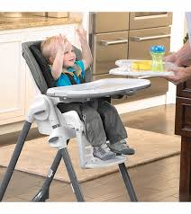 Chicco High Chair Polly by Chicco Polly Single Pad Highchair Lilla