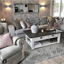 Living room furniture and accents