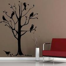bird tree wall mural decal trendy wall designs