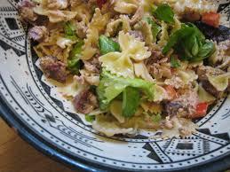 la salade de pâtes au thon auroreinparis