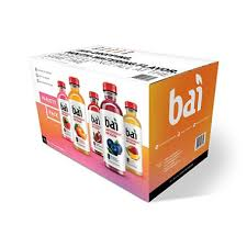 Sams Club Small Deck Box by Bai Antioxidant Infusion Variety Pack 18 Fl Oz Bottles 15 Ct