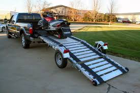 100 Truck Bed Motorcycle Lift Condor TRamp Trailer Ramp System