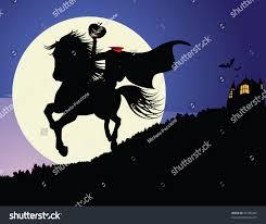 The Haunted Pumpkin Of Sleepy Hollow 2003 by Headless Horseman Horseman Rides Under Full Stock Vector 85700449