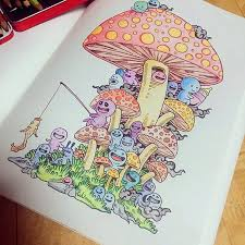 Around The World Are Crazy About Coloring Books And Kerby Rosanes Philippines Based Illustrator Has A Wonderful Book For Them