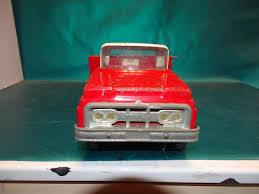 100 Truck Bed Ramp Rare Vintage 1960s Pressed Steel Tonka Hoist 20