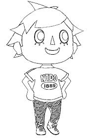 Animal Crossing Coloring Pages Free On Masivy World