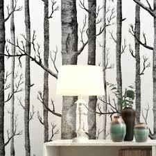 details zu schwarz weiße birken tapete für schlafzimmer modernes design wohnzimmer tap o4j9