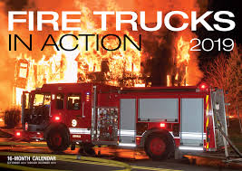 100 Fire Trucks Unlimited In Action 2019 16Month Calendar Includes September