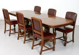 Antique Carved Oak Leather Dining Table And And 6 Chairs Fine Quality  Jacobean 6 Antique Berkey Gay Depression Jacobean Walnut Ding Room Table And Four Chairs With Bench Luxury Wood Set Of Eight Solid Carved Oak 1930s Or Gothic Style Kitchen Design Sets This Is Fantastic A Superb Large Oak Refectory Table Size 121 X 242cm Togethe Lovely Top Result 50 Pair Ethan Allen Royal Charter Side Early 20th Century Revival Lot 54 Mahogany Six Jacobean Chair Artansco