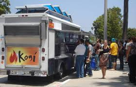 Is The Food Truck Revolution Slowing Down? | Here & Now Prx Piece Korean Bbq Tacos Street Food Guru Roy Choi On Sunny Spot Trucks Kogi More Bull Taco Truck Hollywood And West Los Culver City California If You Are In The Citypalmsmar Vista Barbecue Pioneer Battles Deserts With High Cuisine Wlrn Angeles Food Trucks Jon Favreau Explains Allure Cnn Travel Miss Mochis Adventures Hapa A Taco Truck Brought To By Twitter Spicy Pork Tacos Bulgogi Burrito Both Delish Yelp