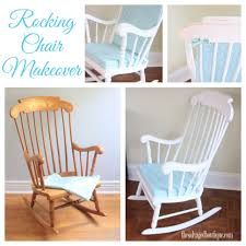 Vintage Rocking Chair Makeover For A Baby Nursery | Annie ...