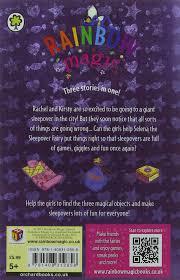 Trixie The Halloween Fairy Pictures by Selena The Sleepover Fairy Special Rainbow Magic Amazon Co Uk