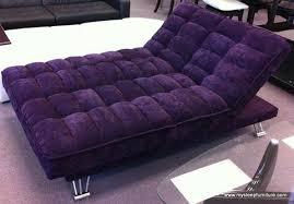 lucy fabric chaise klik klak sofa bed purple or blue colors