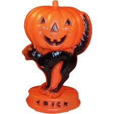 Halloween Blow Molds Vintage by Vintage Halloween Light Up Blow Mold Jack O Lantern Pumpkin