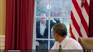Barack Obama and Jerry Seinfeld talk about nothing in a great