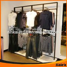 Modern Brand Shop Clothing Wall ShelvesWall Display Shelves For