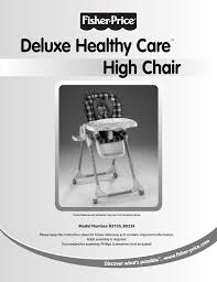 Fisher-Price DELUXE HEALTHY CARE B2105 User Manual | 16 ... Multicolor Fisherprice Space Saver High Chair Highchairs Peg Perego Siesta Adjustable High Chair Ice Grey Healthy Care In Gerrards Cross Amazoncom Replacement Hdware Bag For Use With Fisher Height Adjustable Foldable Baby Bay0224tq Portable And Booster Mulfunction Ocean Wonders Cocoon Highchair Prices Demand Metroarea Health Care Premium Shopping Cart Cover Pillows Cushions Blue Truck Us 12999 40 Offlangria Aca071 Back Leather Office Computer Gaming With Footrest 360 Degree Swivel Health Homein