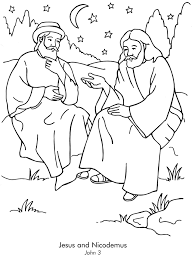 Bible Coloring Pages For 3 Year Olds