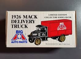 Big A Auto Parts 1926 Mack Delivery Truck Bank - ERTL Limited ... Listing All Parts For Holdenisuzu Isuzu Truck Giga 2013 Api Nz Arch Auto Grand Opening Of New Store In Jamaica Ny 50 Years Experience With Premium Used Nationwide Waycross Georgia Ware Ctycollege Restaurant Bank Hotel Attorney Dr Napa Ford Pickup Truck Mark Flickr Napa Delivery 2002 Chevy S10 Pickup 112 Scale China Xiongda Relay Valve 47170300 European 1953 Dodgetruck 12 53dt6951c Desert Valley Bells Motors Inc 1035 E Wayside Rd Carrollton Ga 30116 Ypcom Hotsale Accsories Cover Tonneau Covers For