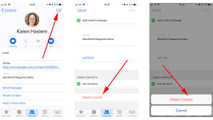 How to delete or merge multiple duplicate contacts on iPhone