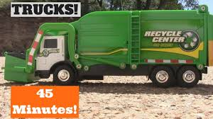 100 Rubbish Truck GARBAGE TRUCK Videos For Children L 45 MINUTES Of Toys PLAYTIME L