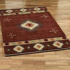 Rustic Area Rugs Medium Size Of Cabin Style Carpet Runners