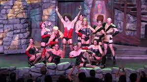 Halloween 3 Original Cast by Full Rocky Horror Picture Show Tribute At Halloween Horror Nights