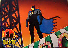 Adventures Of Batman Robin Card Set W Coloring Cards C 1995 Skybox