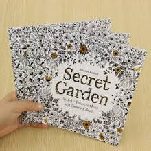 School Office Book Secret Garden 24 Pages Hand Painted Graffiti Coloring Books Of The Relieve Stress