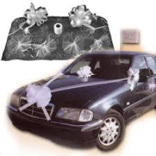décoration voiture mariage pas cher achat deco auto pour mariés