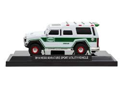 100 Hess Truck History 2014 Miniature Sport Utility Vehicle Toy