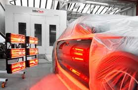 Infratech Infrared Heat Lamp by Infrared Paint Curing Lamps Infratech Automotive Solutions