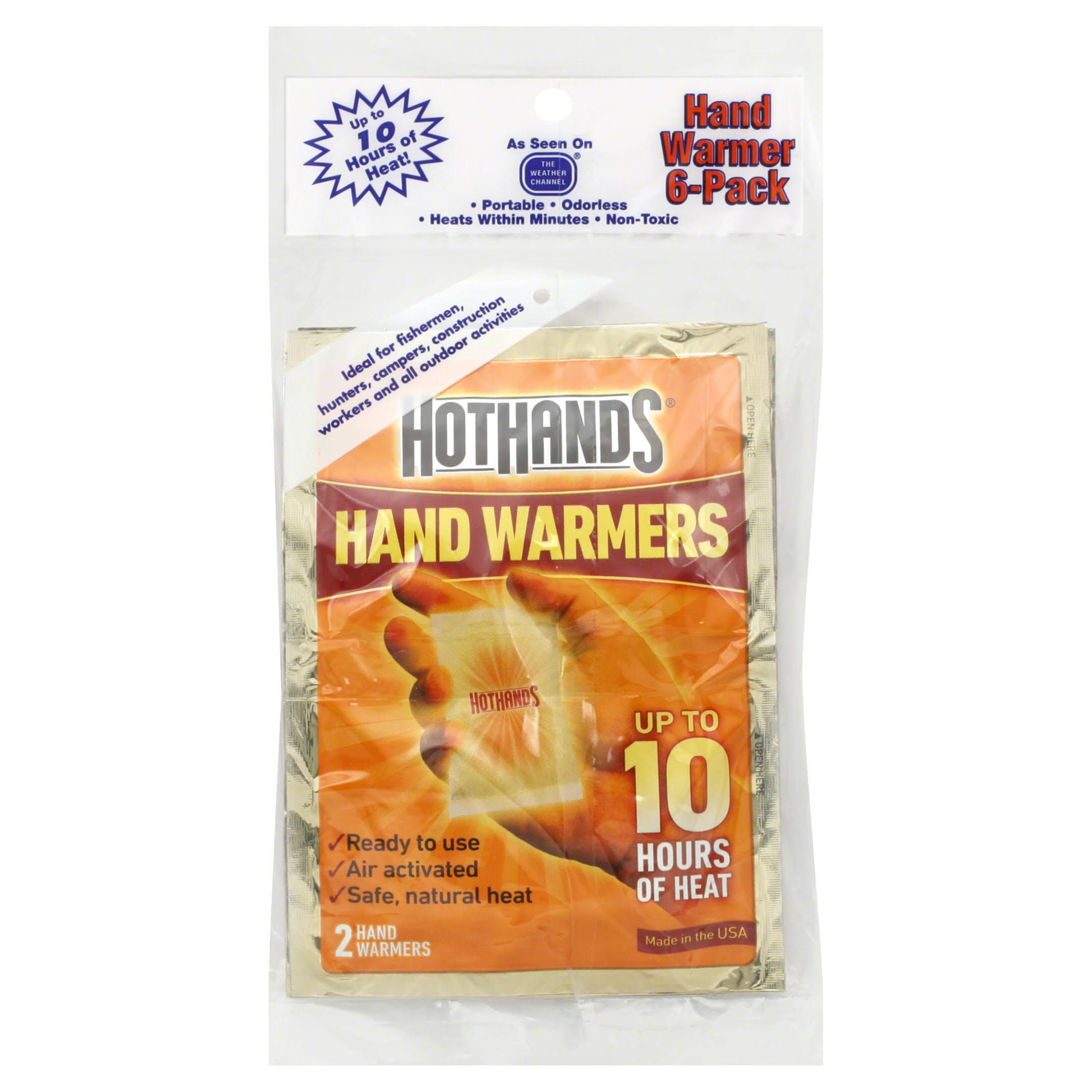 Hothands Hand Warmers - 3 Pairs