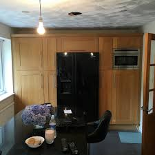 kitchen door refinishing and respraying projects stockport
