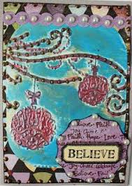 Viva Decor Inka Gold Turquoise by Embossed Card Using Couture Creations Folder And Inka Gold