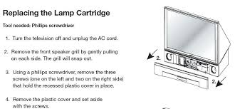 Mitsubishi Wd 60735 Lamp Replacement Instructions by Tv Lamp For Mitsubishi Projector Lamp Bulb For Mitsubishi Dlp Tv