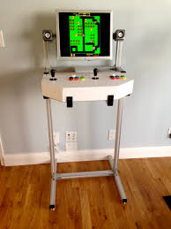 Mame Arcade Cocktail Cabinet Plans by Simple U0026 Lightweight Custom Arcade