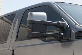 100 Side View Mirrors For Trucks 20082015 F250 F350 Recon Lighting LED Mirror Lights Smoked