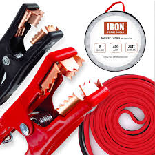 Amazon.com: 20 Foot Jumper Cables With Carry Bag - 8 Gauge, 400 AMP ... Heavy Duty Jumper Cables For Industrial Vehicles Truck N Towcom Enb130 Booster Engizer Roadside Assistance Auto Emergency Kit First Aid 1200 Amp 35 Meter Jump Leads Cable Car Van Starter Key Buying Tips Revealed Amazoncom Cbc25 2 Gauge Wire Extra Long 25 Feet Ft Lexan Plug Set With 500 Amp Clamps Aw Direct Buyers Products Plugins 22ft 4 Ga 600 Kapscomoto Rakuten X 20ft 500a Armor All Start Battery Bankajs81001 The Home Depot