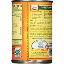 Libbys 100 Pure Pumpkin Pie Recipe by Libby U0027s 100 Pure Organic Pumpkin 15 Oz Can Walmart Com