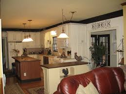 Kitchen Design Awesome White Rectangle Unique Wooden Decor Themes Stained Ideas Exciting