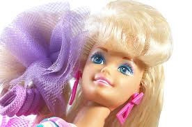 Barbie Totally Hair 25th Anniversary 90s Barbie Doll With Crimped