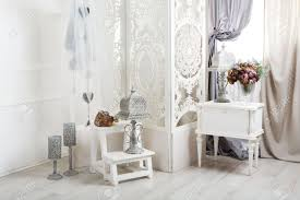 Wedding Decor Room Decorated For Shabby Chic Rustic With Bedside Table Folding