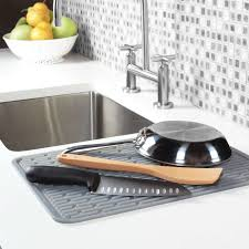 Oxo Good Grips Sink Strainer by Oxo Good Grips Large Silicone Drying Mat 16 9