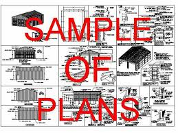 How To Build A Small Pole Barn Plans by Pole Barn Engineered Plans Sds Plans